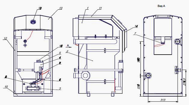 Котлы газовые сиберия с чугунным теплообменником теплообменник газовых котлов